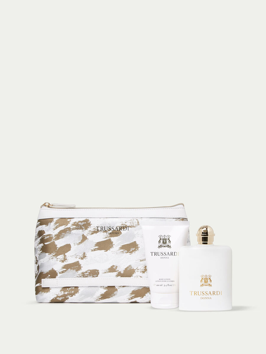 Trussardi Donna Perfume   Body Lotion and Toiletry Set