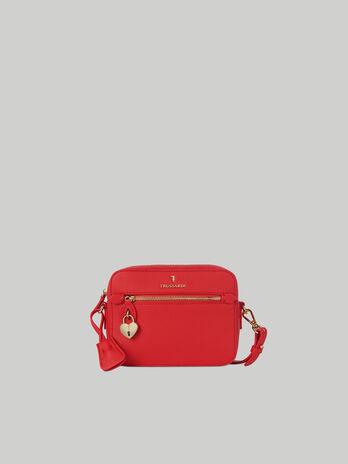 Camera Bag Lily aus Kunstleder mit Hirschpraegung