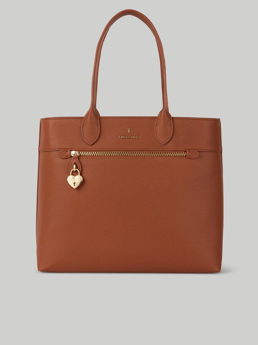 Lily deerskin Shopper bag