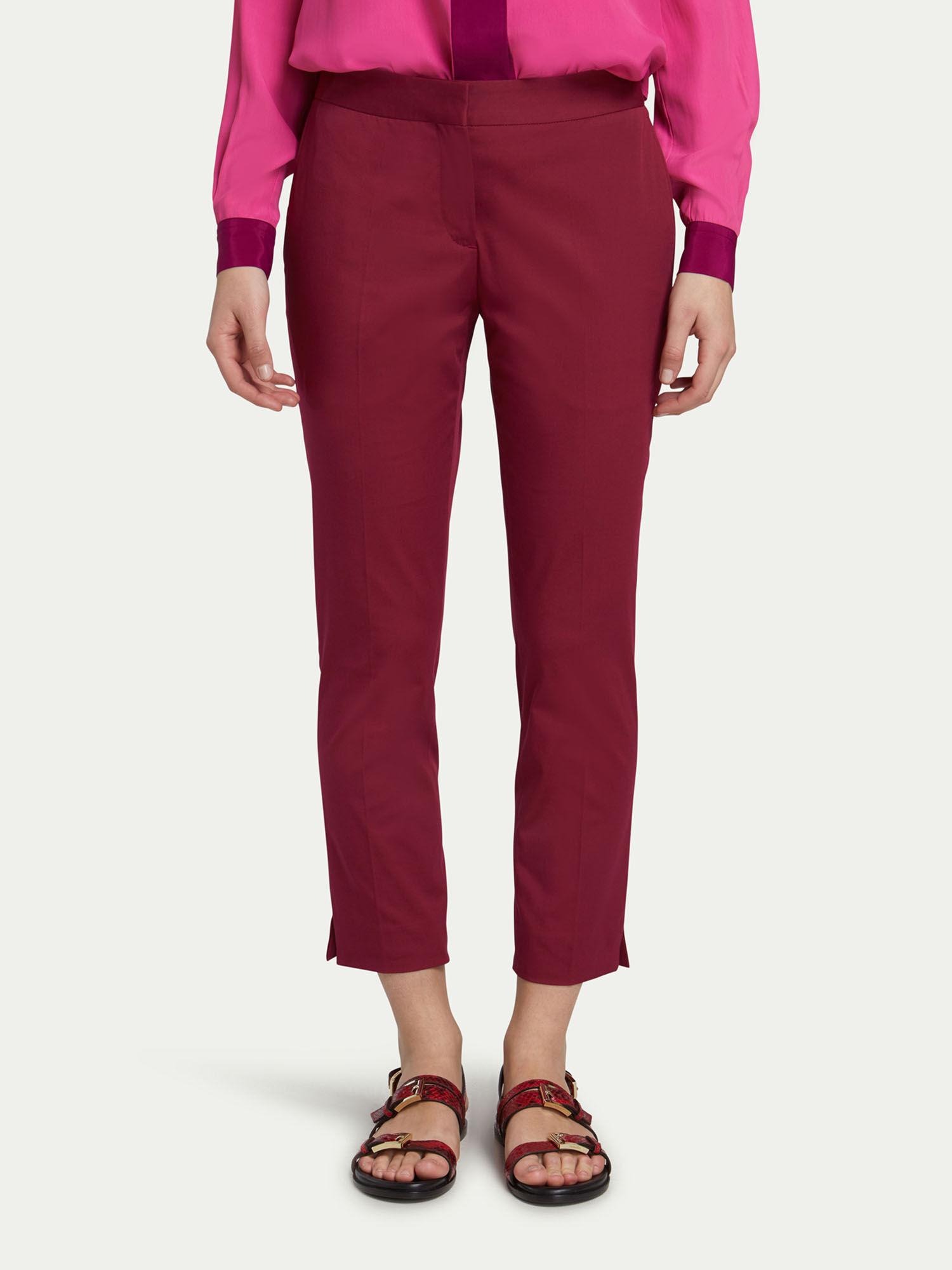 Fit Stretch Gabardine In Regular Pantaloni Capri 47EwqXxCn8