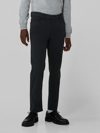 Heavy cotton gabardine Icon 380 trousers