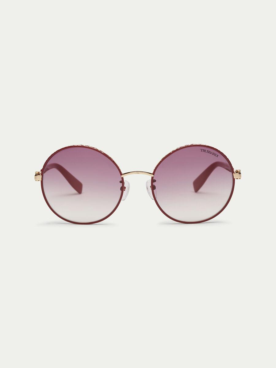 Oversized round sunglasses