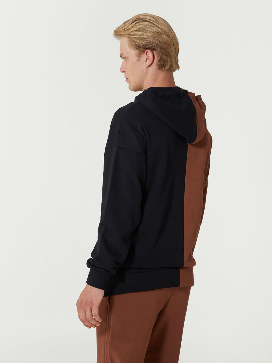 Kapuzensweatshirt im Oversize aus Baumwolle