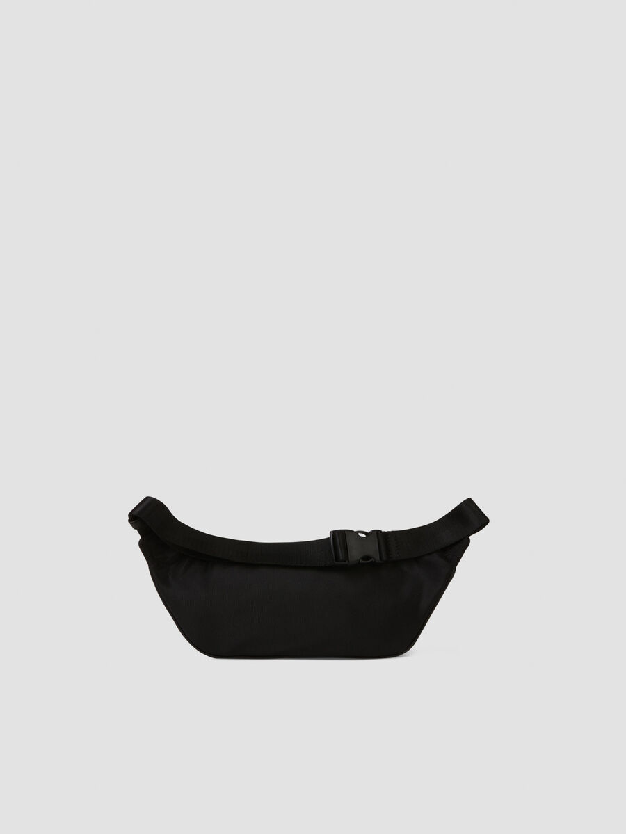 Ortisei belt bag in nylon and faux leather