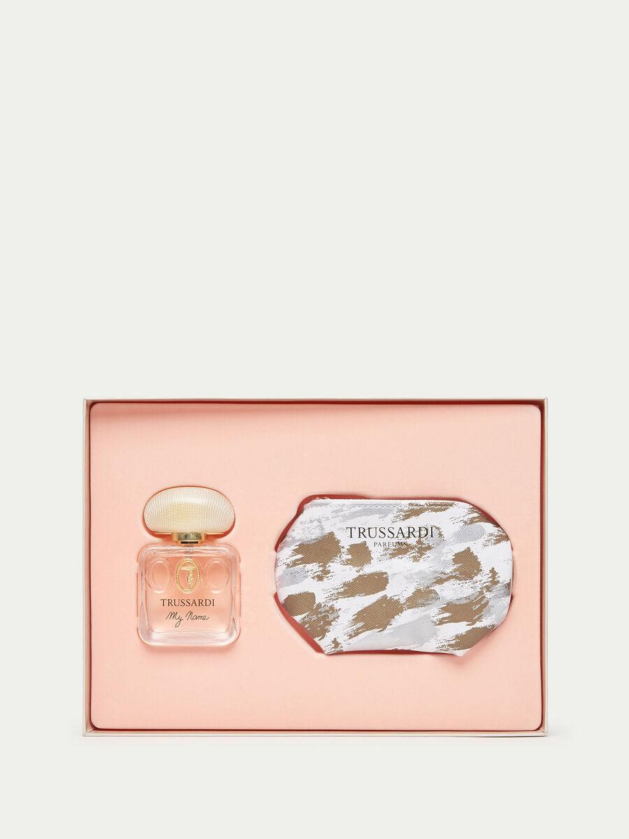 Trussardi My Name Perfume and Make up Bag Set