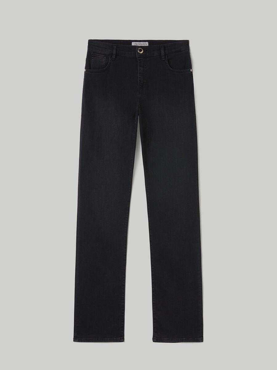 Jean 130 Classic en denim Flat