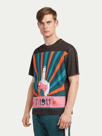 Men S T Shirts And Polo Shirts Trussardi Com