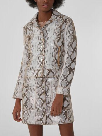 Python-print jacket