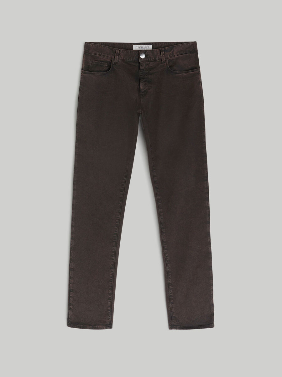 Close 370 trousers in special gabardine