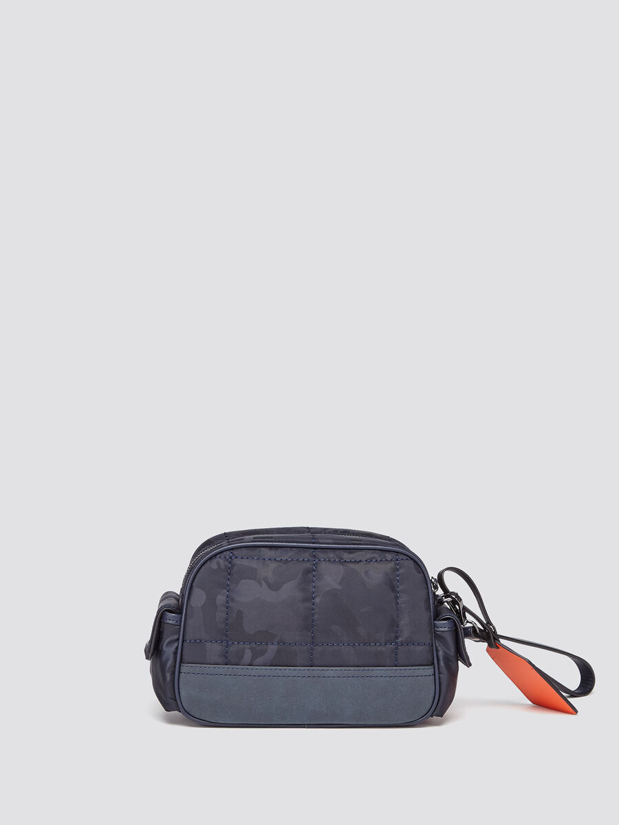 Ticinese toiletry bag in camouflage nylon