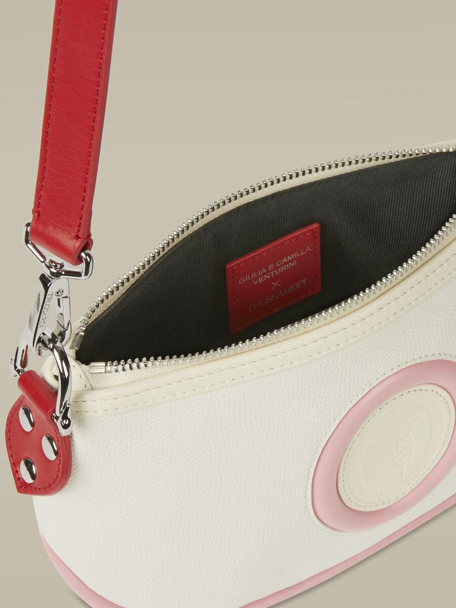 Medea baguette bag in hammered leather