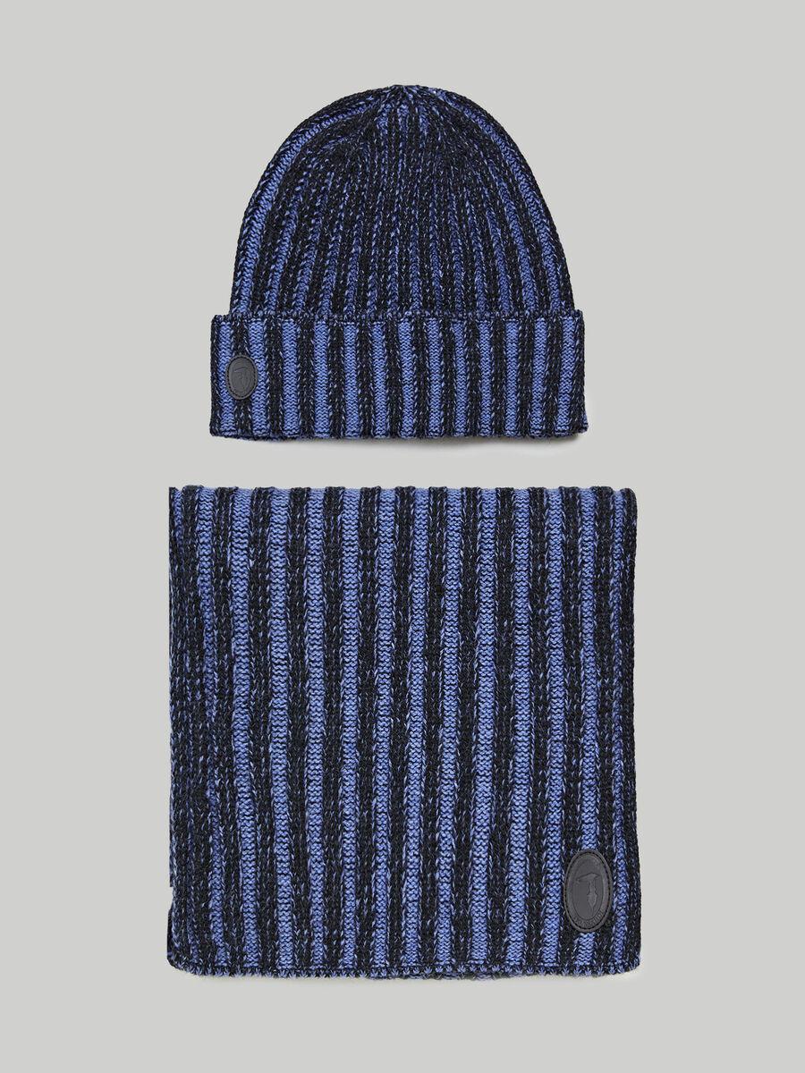 Wool-blend winter set