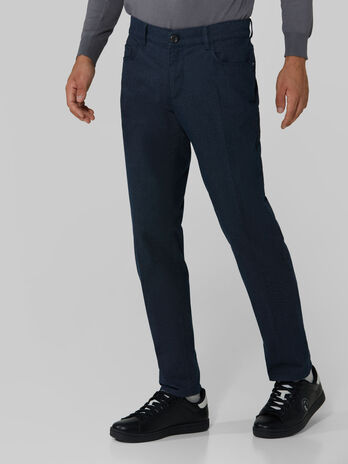 Cotton flannel Close 370 trousers
