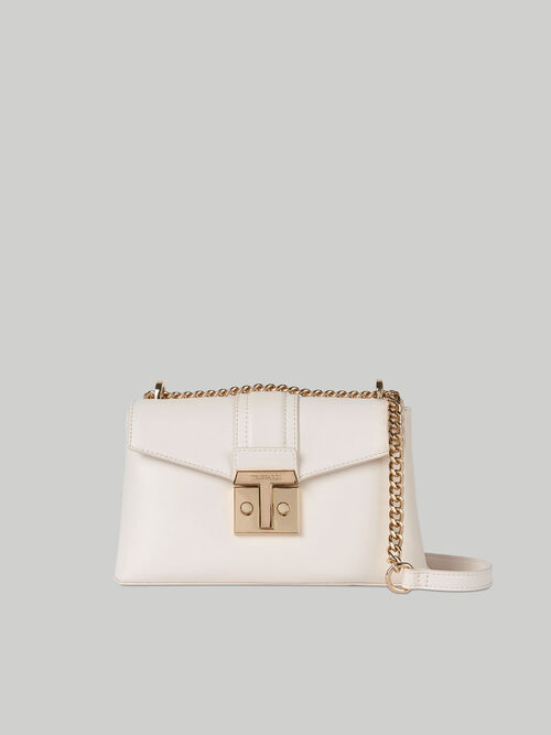 Sac cross body Tulip moyen format en similicuir lisse