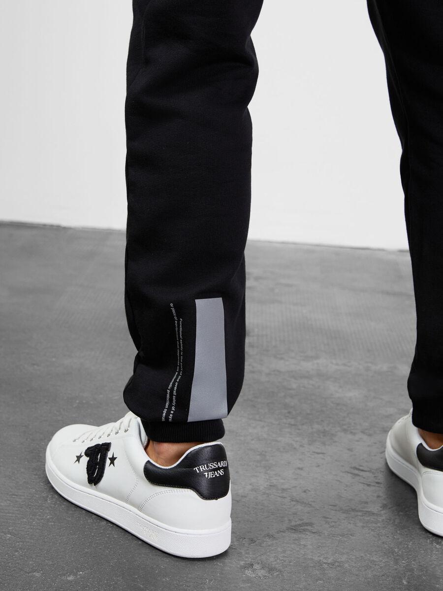 Pantalones de felpa de algodon