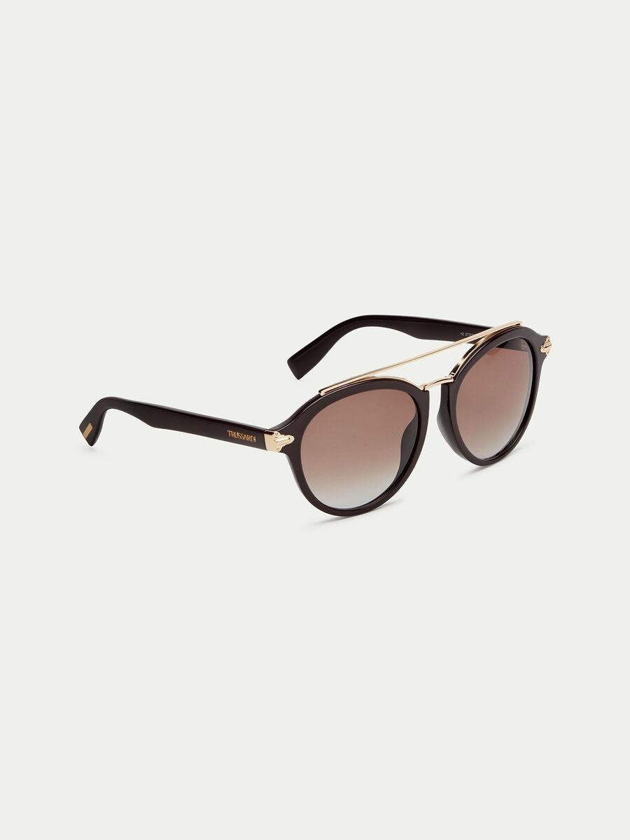 Sonnenbrille in Matt mit Buegeln