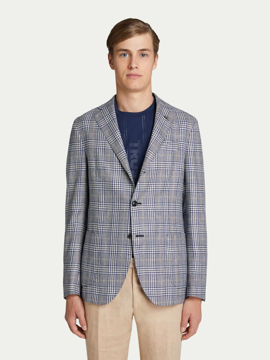 Chequered City jacket