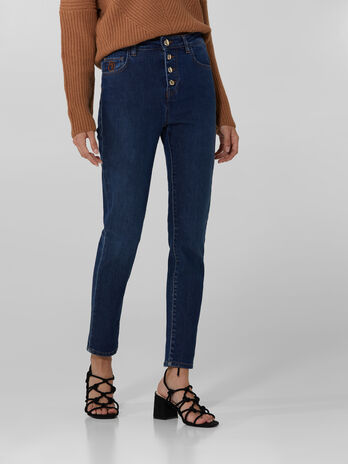 Jeans 208 Sophie in denim soft