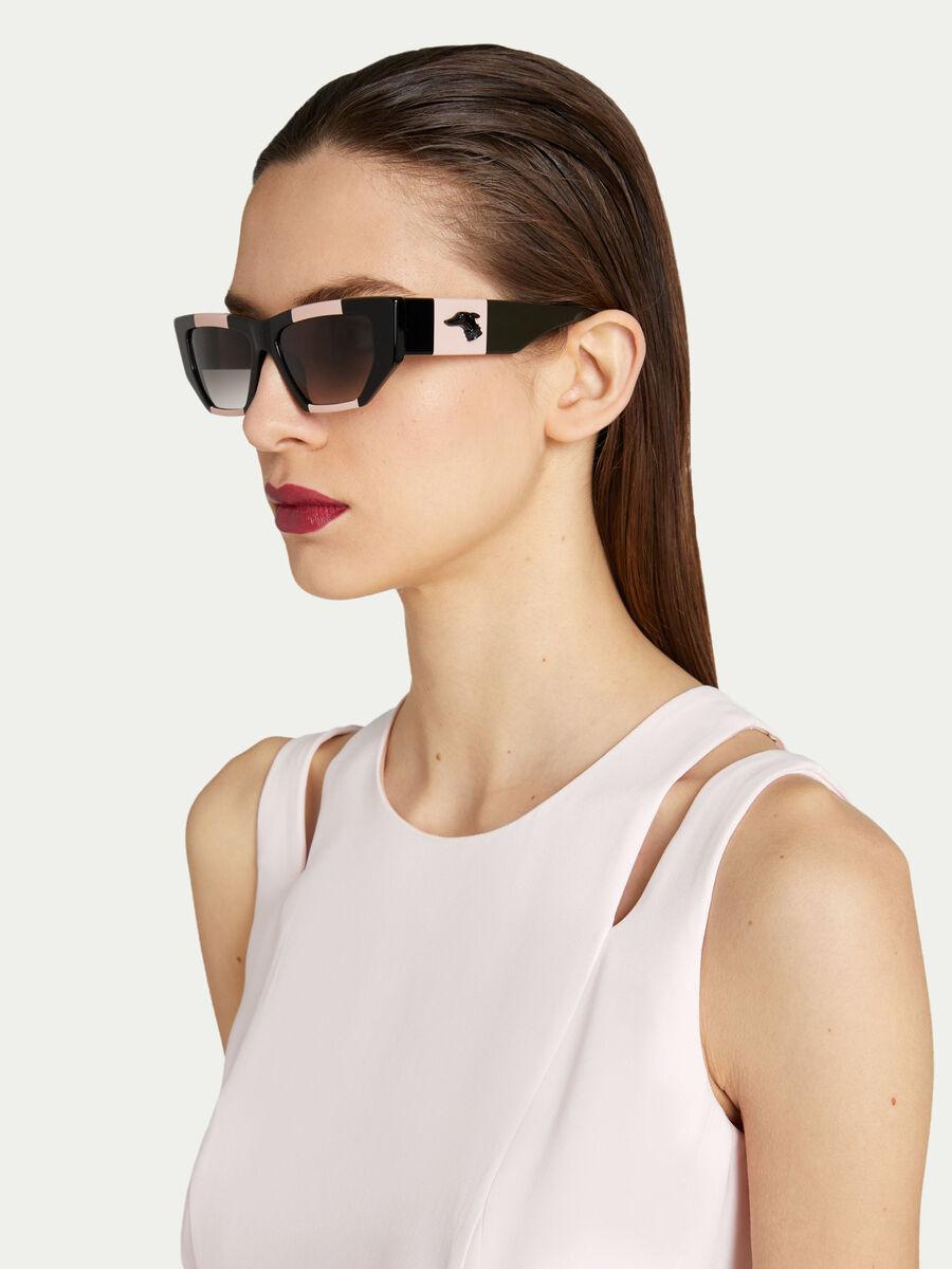 Mehrfarbige Sonnenbrille