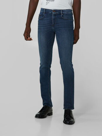 Wool blend denim Close 370 jeans