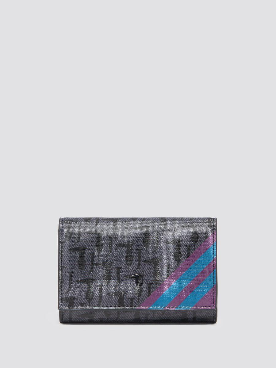 Geldboerse Vaniglia klein mit Allover Logo