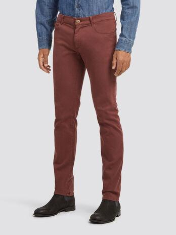 Five pocket close fit jeans
