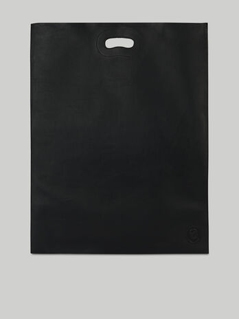 Shopper Trussardi Nuwev aus einfarbigem Nappaleder