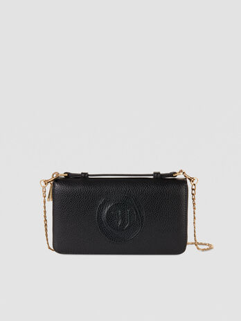 Large Faith Travel purse in faux leather with logo