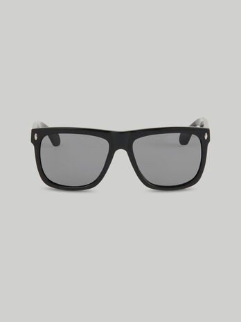 Gafas de sol de acetato negro