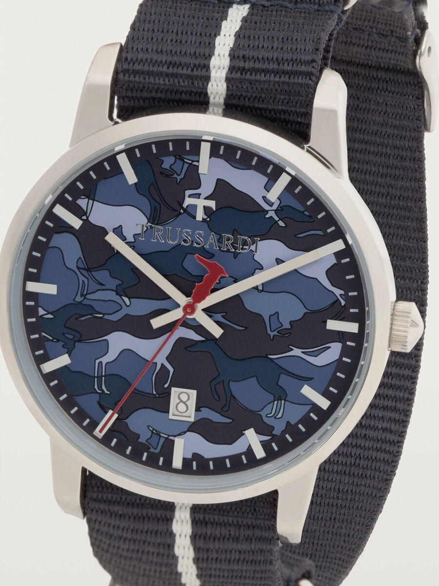 T Genus Watch with Camouflage Dial