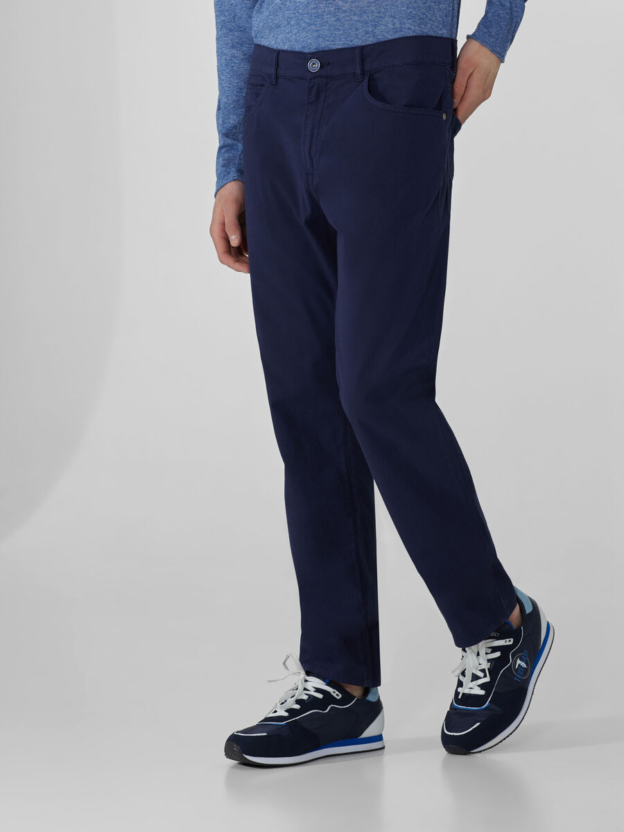 Icon 380 trousers in light canvas