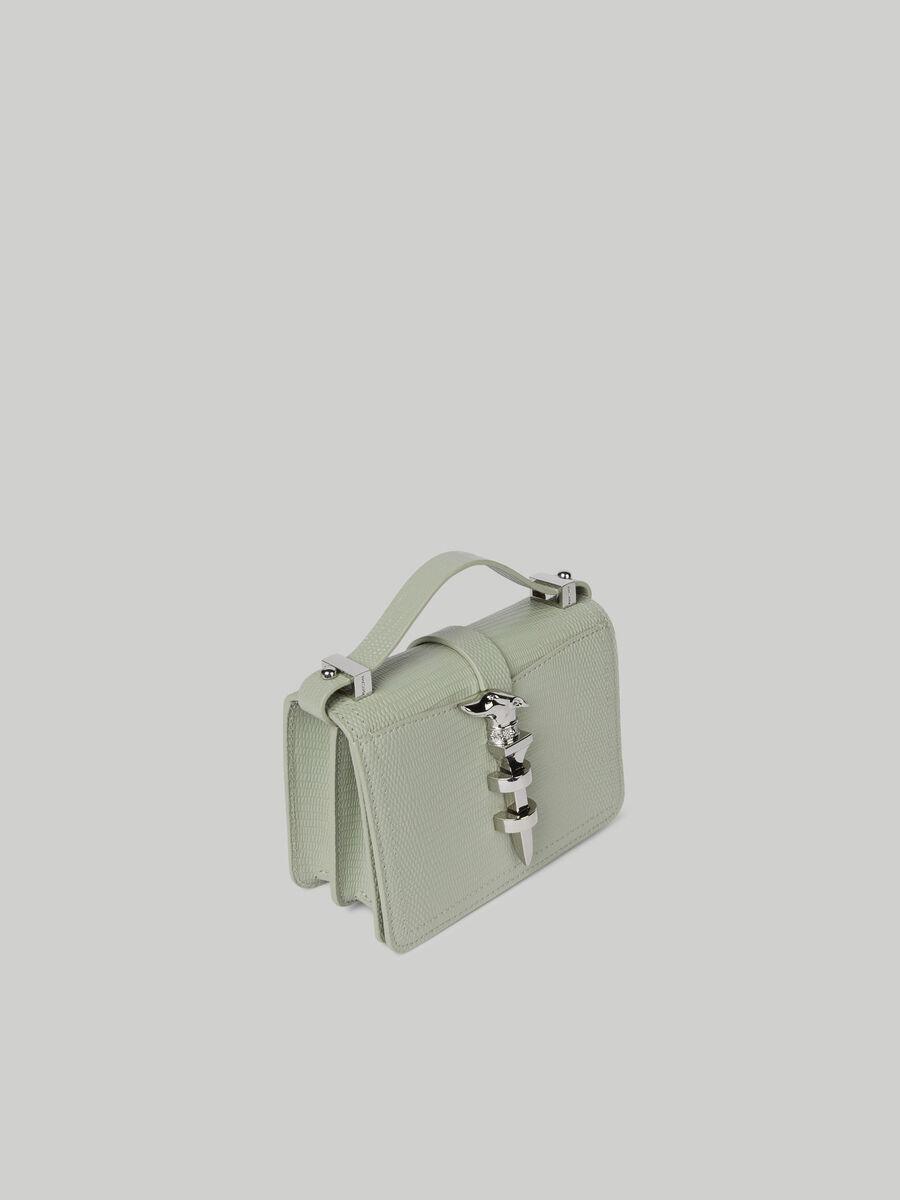 Mini sac cross-body Leila a imprime lezard