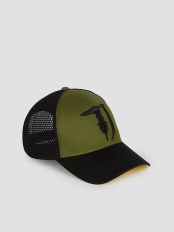 Two tone baseball cap with peak 0d0966ff850