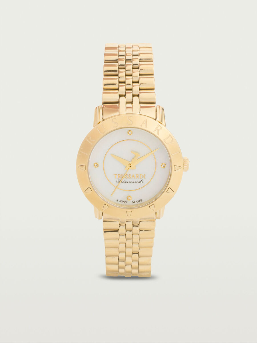Gold tone Sinfonia watch