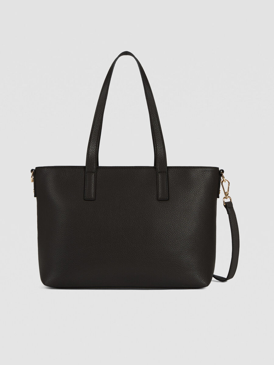 Medium Harper shopper in faux leather