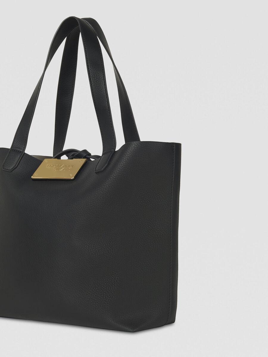 Trussardi Shopping bag Luna large in similpelle reversibile