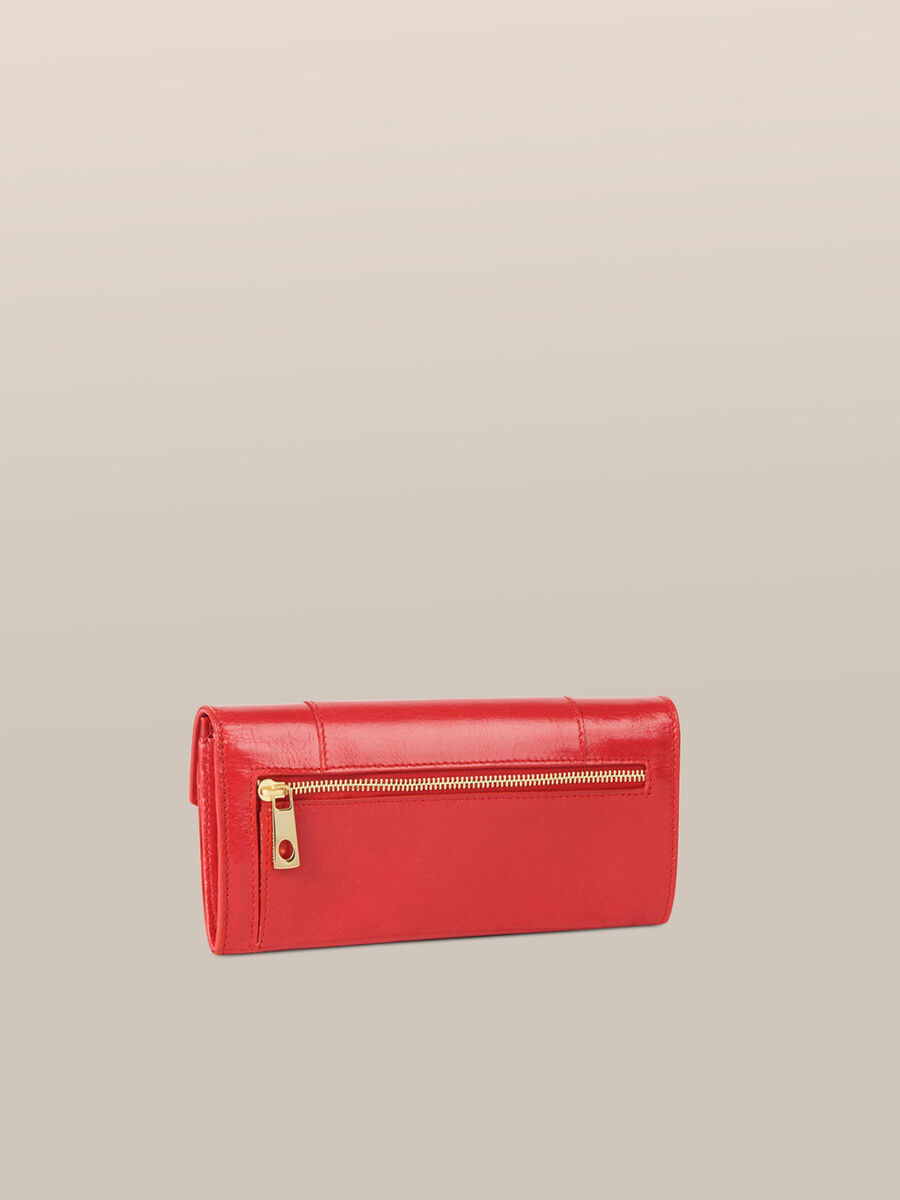 Leather New Lovy continental purse
