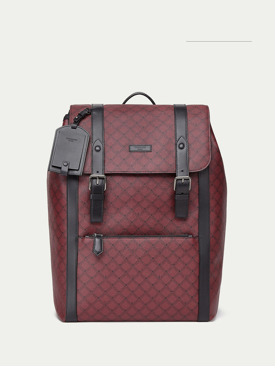 Large Crespo leather Monogram backpack