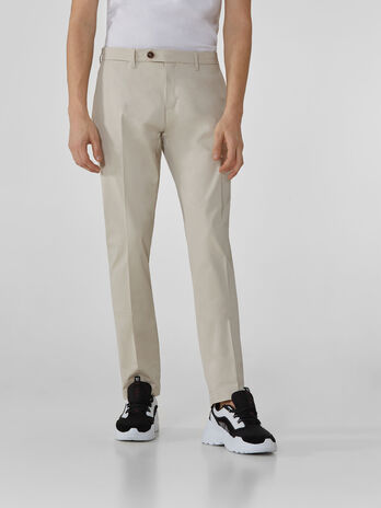 Stamford-fit trousers in lux gabardine