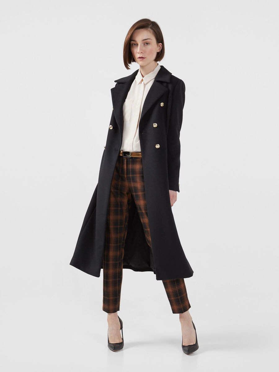 Hive fabric coat