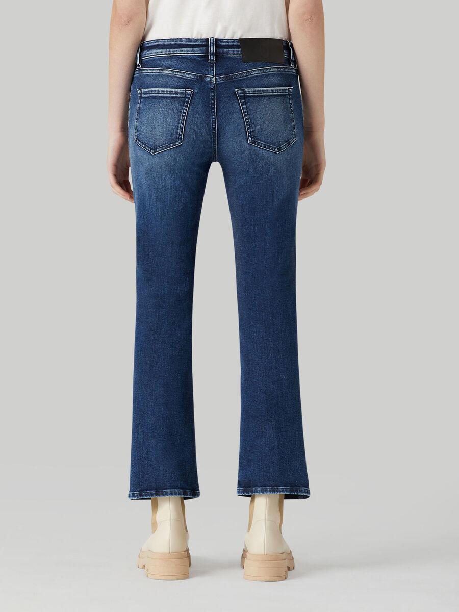 Cotton denim Kick jeans