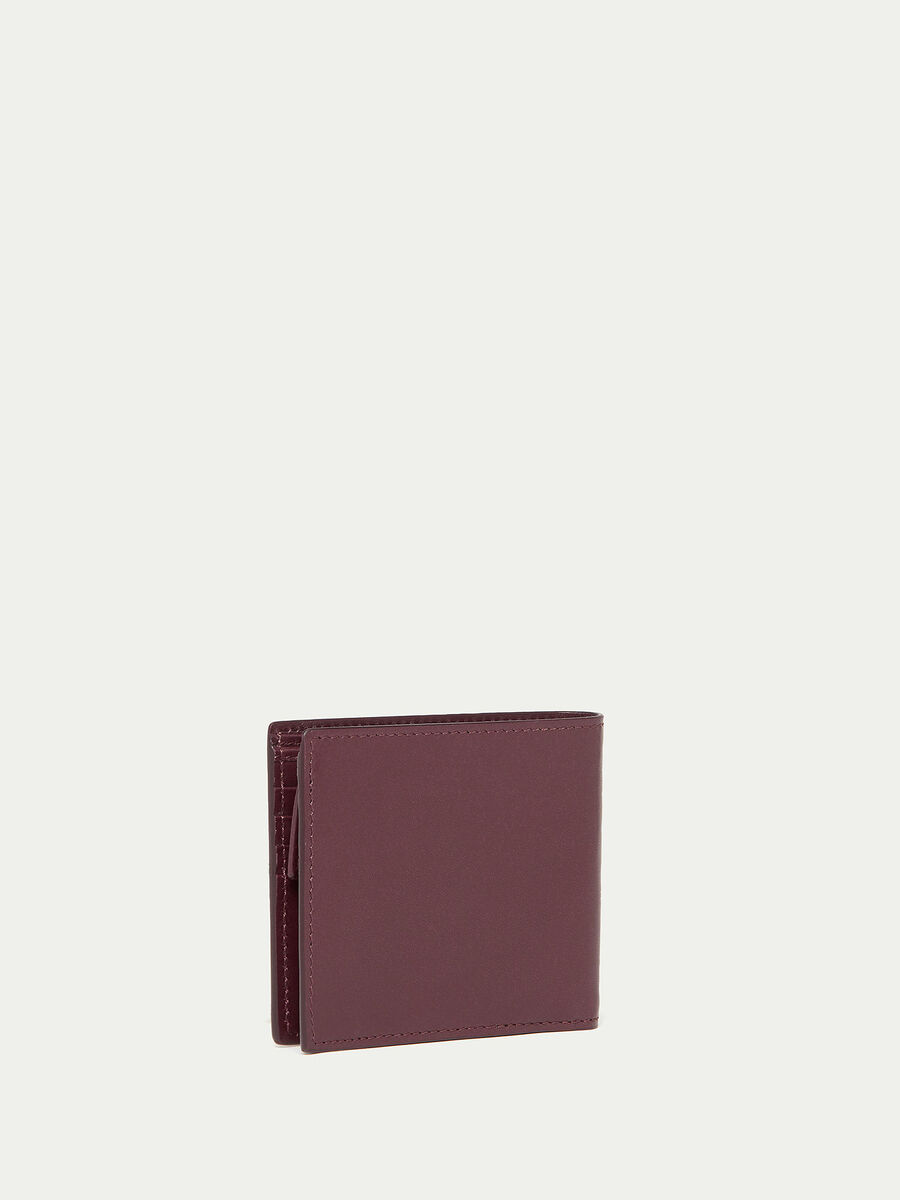 Urban wallet with coin pocket