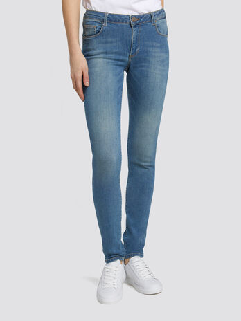 Regular Basic 260 jeans in blue washed denim
