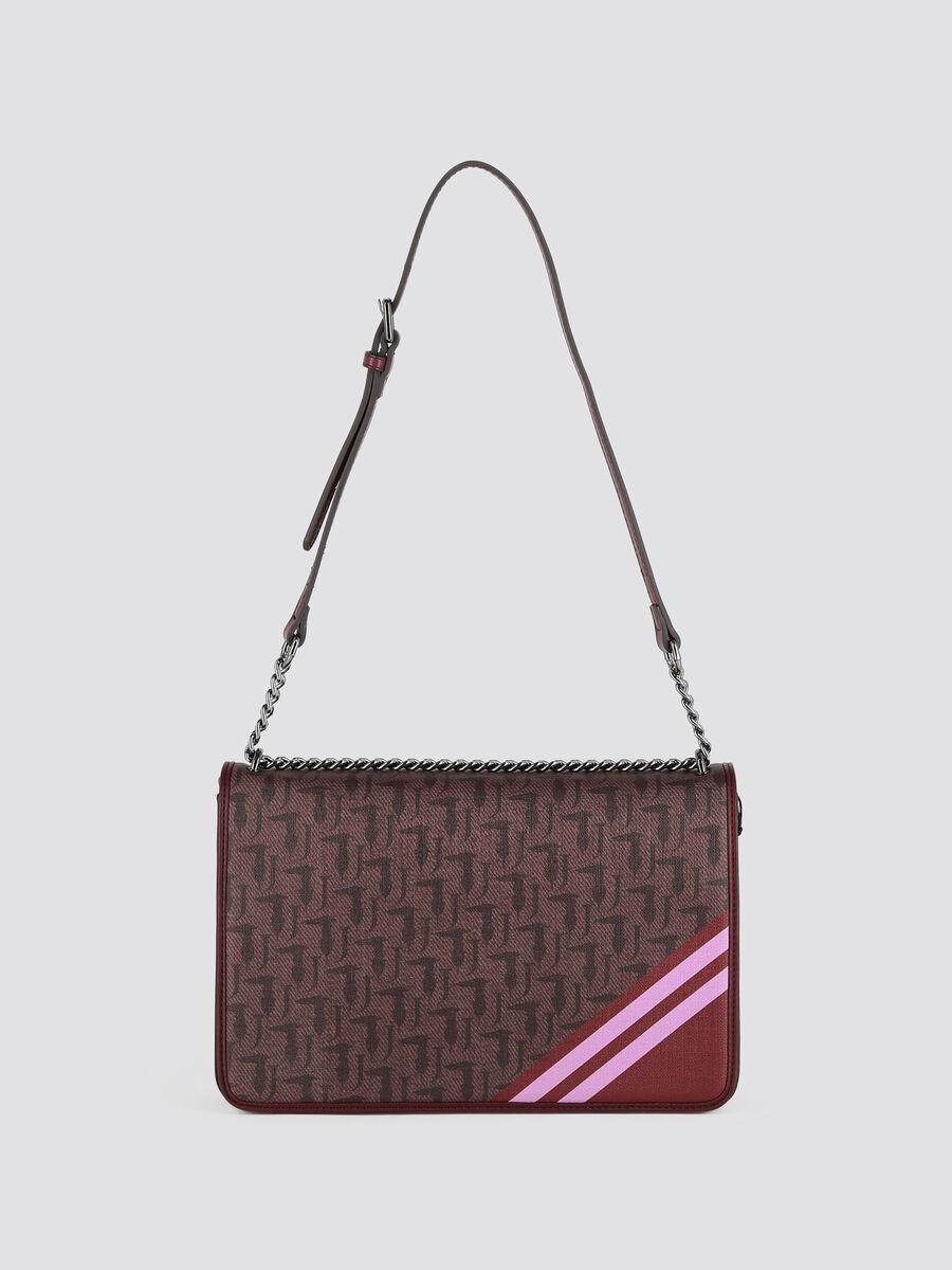 Medium Vaniglia shoulder bag with logo print