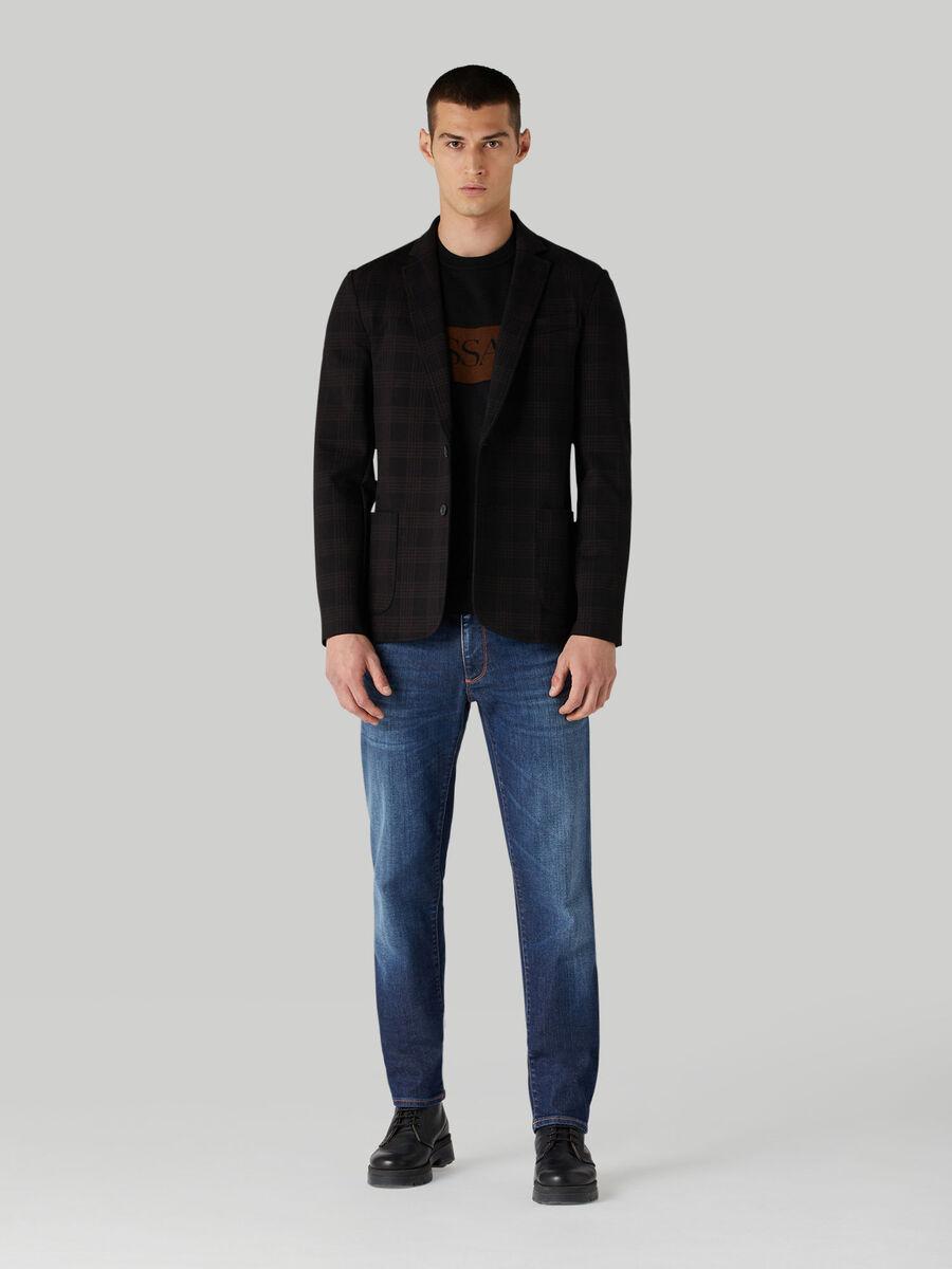 Close 370 jeans in stretch twill denim