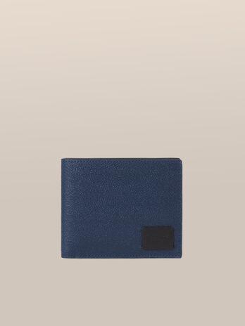 Portafoglio porta carte Business in pelle crespo