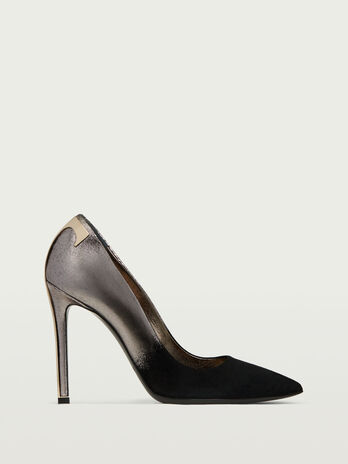 Lamb leather pumps
