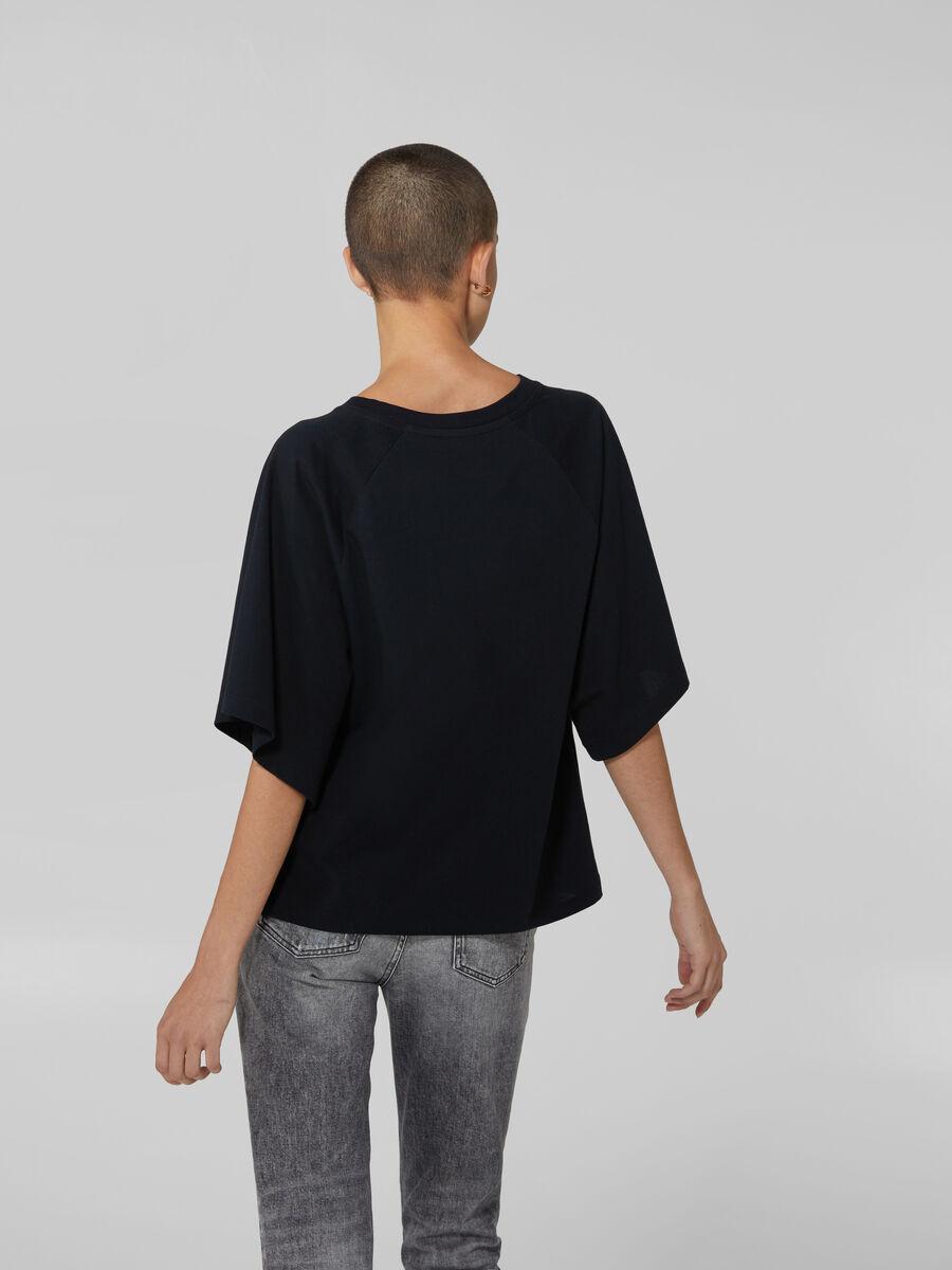 Boxy cotton jersey T-shirt