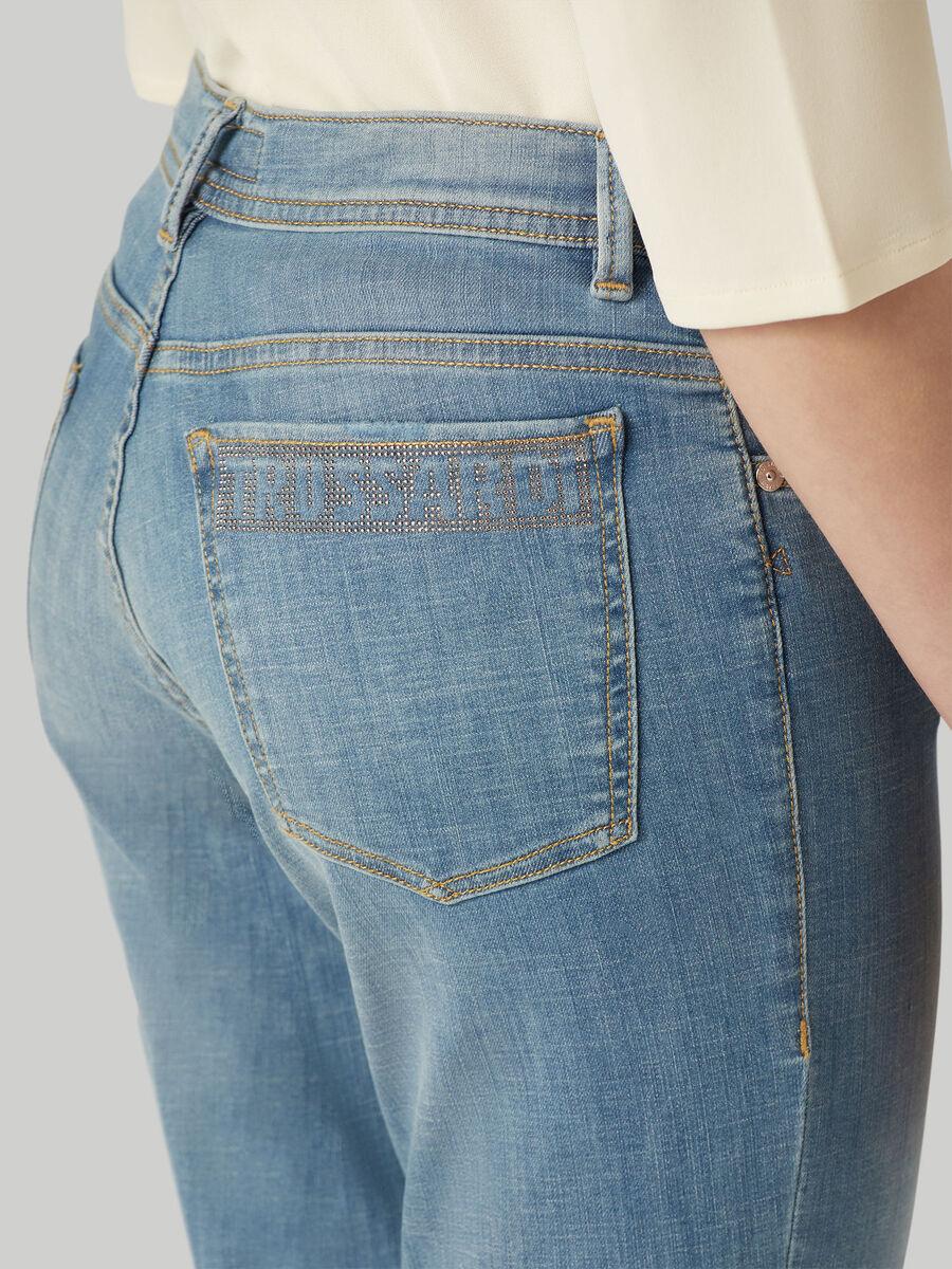 Jeans 105 skinny fit in denim soft cross