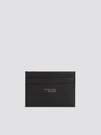 Porte cartes Business Affair en similicuir uni